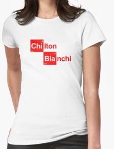 Team Chilton Marussia (white T's) Womens Fitted T-Shirt