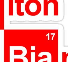 Team Chilton Marussia (white T's) Sticker