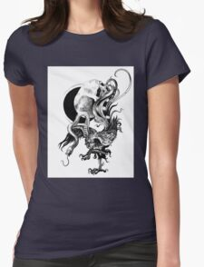 Silver and Beast Womens Fitted T-Shirt
