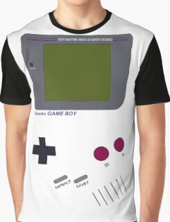 Cartoon Console Graphic T-Shirt