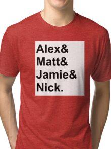 AM names Tri-blend T-Shirt