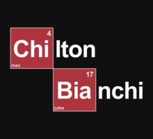 Team Chilton Bianchi (white T's) by Tom Clancy