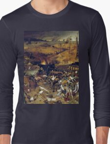 The Apocalypse by Hieronymus Bosch Long Sleeve T-Shirt