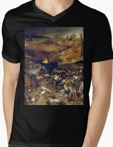 The Apocalypse by Hieronymus Bosch Mens V-Neck T-Shirt