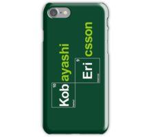 Team Kobayashi Ericsson (black T's) iPhone Case/Skin