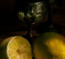 A taste of lemon Sticker