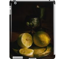 A taste of lemon iPad Case/Skin