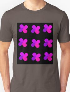 Purple flowers Unisex T-Shirt