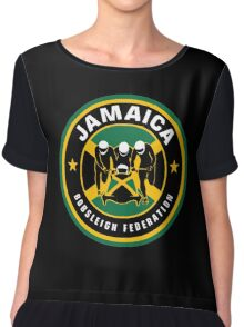 JAMAICA BOBSLED TEAM - COOL RUNNINGS Chiffon Top