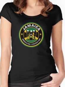 JAMAICA BOBSLED TEAM - COOL RUNNINGS Women's Fitted Scoop T-Shirt