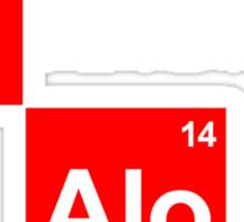 Team Raikkonen Alonso (black T's) Sticker