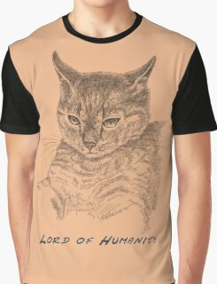Cat Lord of Humanity Graphic T-Shirt