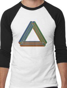 Sarcone's tribar Men's Baseball ¾ T-Shirt