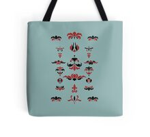 patterns in the storm Tote Bag