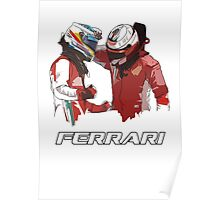 Fernando & Kimi 2014 Poster