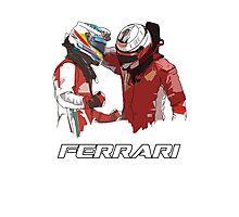 Fernando & Kimi 2014 Photographic Print