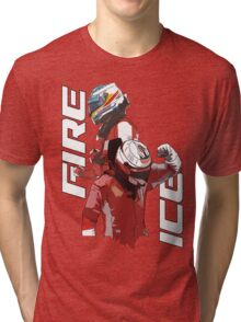 Alonso & Kimi (Fire & Ice) Tri-blend T-Shirt
