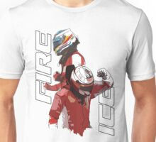 Alonso & Kimi (Fire & Ice) Unisex T-Shirt