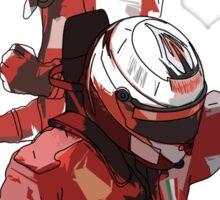 Alonso & Kimi (Fire & Ice) Sticker