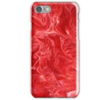 Red Marble iPhone Case/Skin