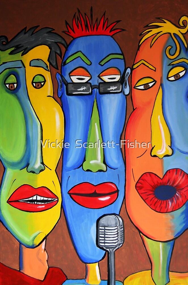 Talking Heads by Vickie  Scarlett-Fisher