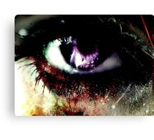 the eye of gore  Canvas Print