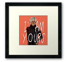 Fenris - I Am Yours Framed Print