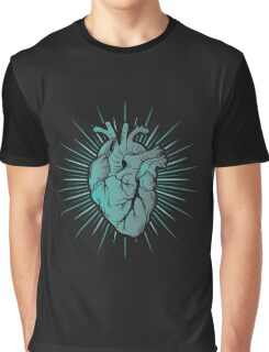 Traditional Heart Graphic T-Shirt