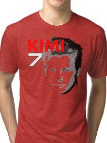 Kimi 7 - Team Garage T-Shirt Tri-blend T-Shirt