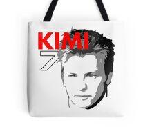 Kimi 7 - Team Garage T-Shirt Tote Bag