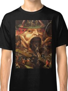 Insight into Hell 3 by Hieronymus Bosch Classic T-Shirt