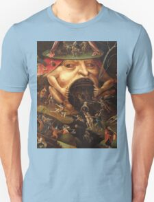 Insight into Hell 3 by Hieronymus Bosch Unisex T-Shirt