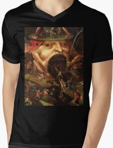 Insight into Hell 3 by Hieronymus Bosch Mens V-Neck T-Shirt