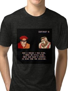 Street Fighter II x Hip Hop Tri-blend T-Shirt