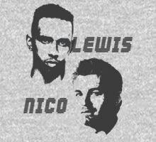 Lewis & Nico - The battle of 2014 One Piece - Long Sleeve