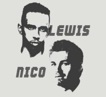 Lewis & Nico - The battle of 2014 by Tom Clancy