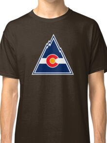COLORADO ROCKIES HOCKEY RETRO Classic T-Shirt