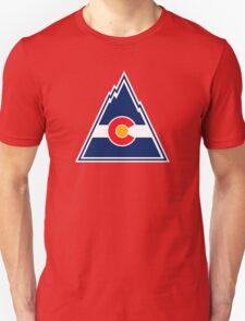 COLORADO ROCKIES HOCKEY RETRO Unisex T-Shirt