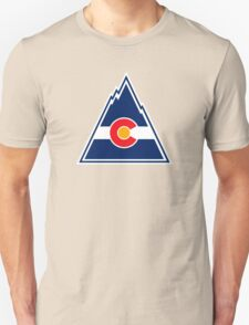 COLORADO ROCKIES HOCKEY RETRO Unisex T-Shirt