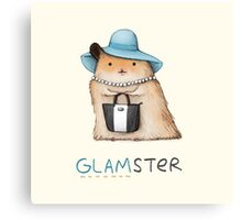 Glamster Canvas Print