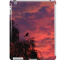 Coming in to roost iPad Case/Skin