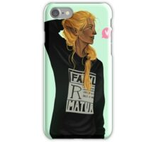 Zevran - Royally Tough to Kill iPhone Case/Skin