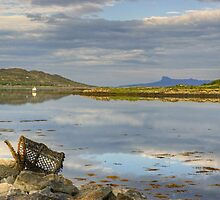 Arisaig Harbour by Jamie  Green