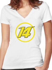 Alonso 14 Women's Fitted V-Neck T-Shirt