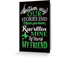 Wicked Musical Quote. Greeting Card