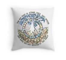 Lord of The Rings Quote Throw Pillow