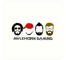 Mulehorn Gaming Podcast Art Print