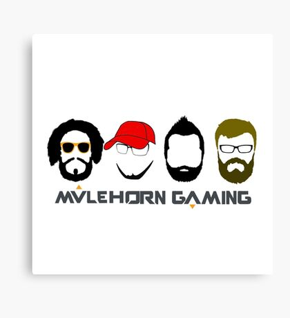 Mulehorn Gaming Podcast Canvas Print