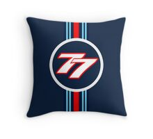 Bottas 77 Throw Pillow