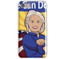 Hillary Clinton as Rosie the Riveter.  iPhone Case/Skin